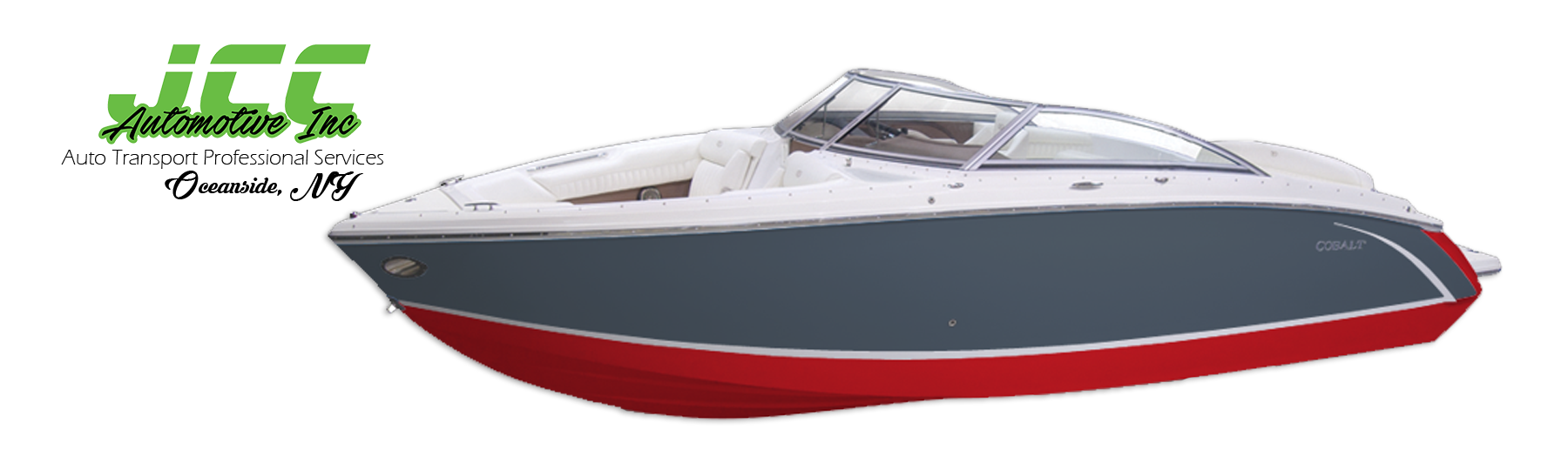 JCC Automotive Inc. | Boat Transport Professional Services, 3 New Street, Oceanside, Long Island, NY, 11572 | PHONE: 516-287-4189, FAX: 516-599-8206