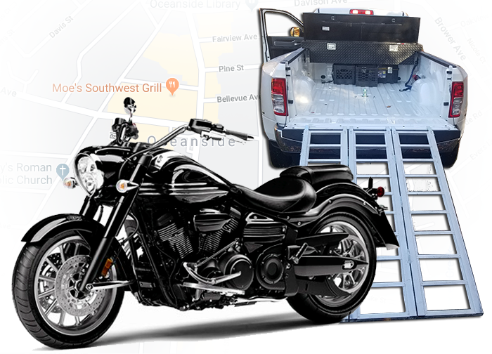 JCC Automotive Inc. image | Motorcycle & ATV Transport Professional Services, 3 New Street, Oceanside, Long Island, NY, 11572 | PHONE: 516-287-4189, FAX: 516-599-8206
